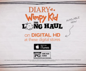 Cartoon Network - Diary of a Wimpy Kid The Long Haul 2017