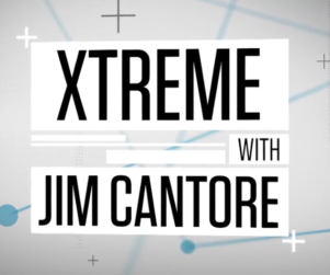 Graphic title card that reads Xtreme with Jim Cantore