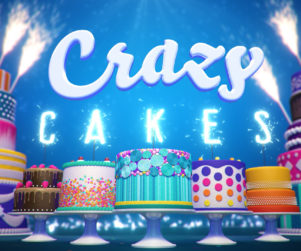 Crazy Cakes Logo Eclipse Creative