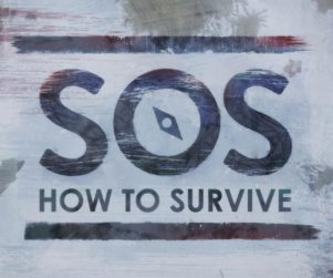 SOS How to Survive Logo Eclipse Creative